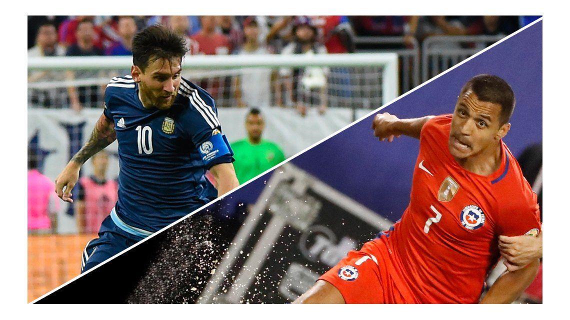 Cara a cara: conocé todos los números de Lionel Messi y Alexis Sánchez