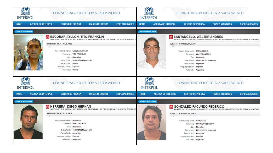 Cayó Pérez Corradi, pero la Argentina encabeza la lista de prófugos de Interpol