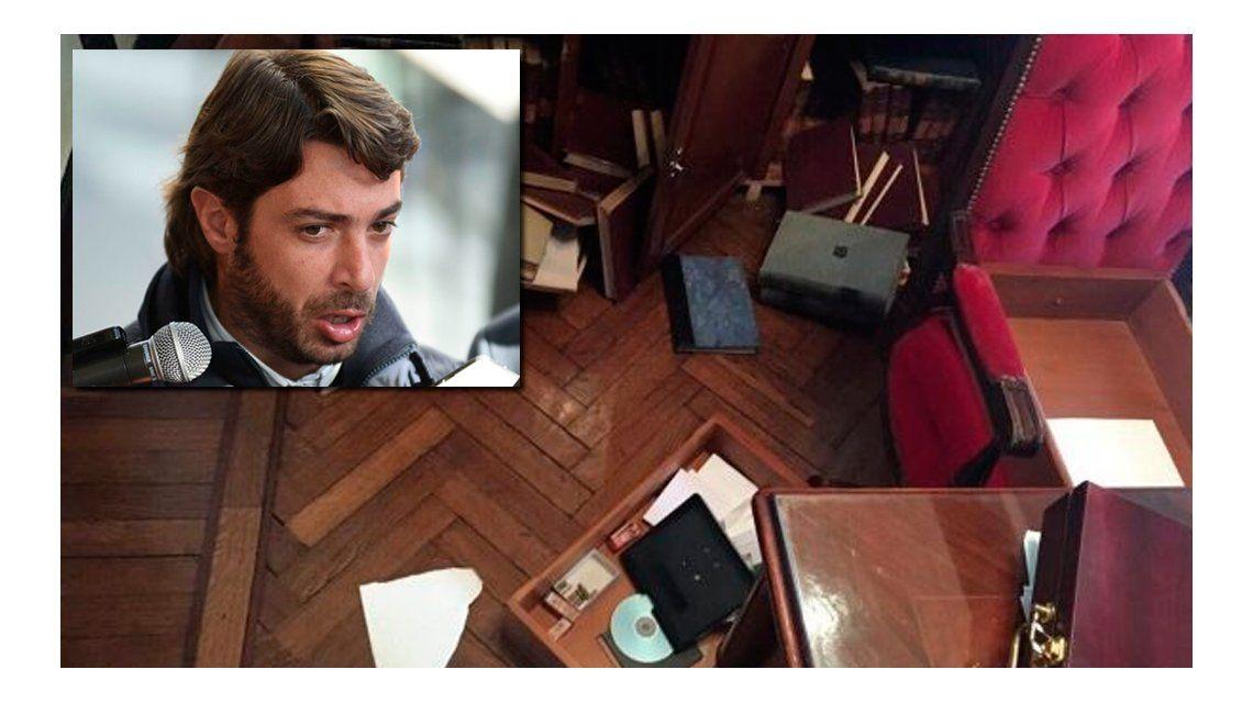 Delincuentes ingresaron a la residencia del ministro de Gobierno de Vidal