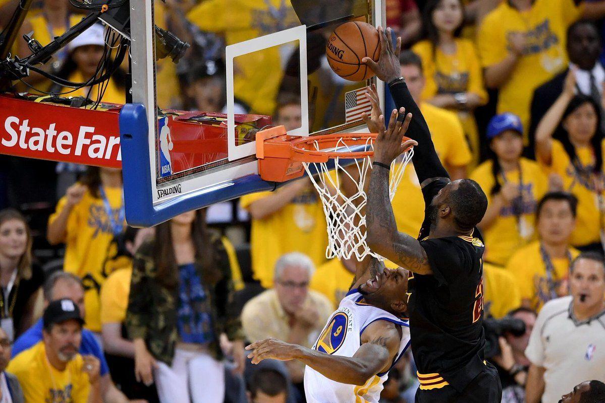 Bloqueo de LeBron y triple de Irving: la jugada del campeonato