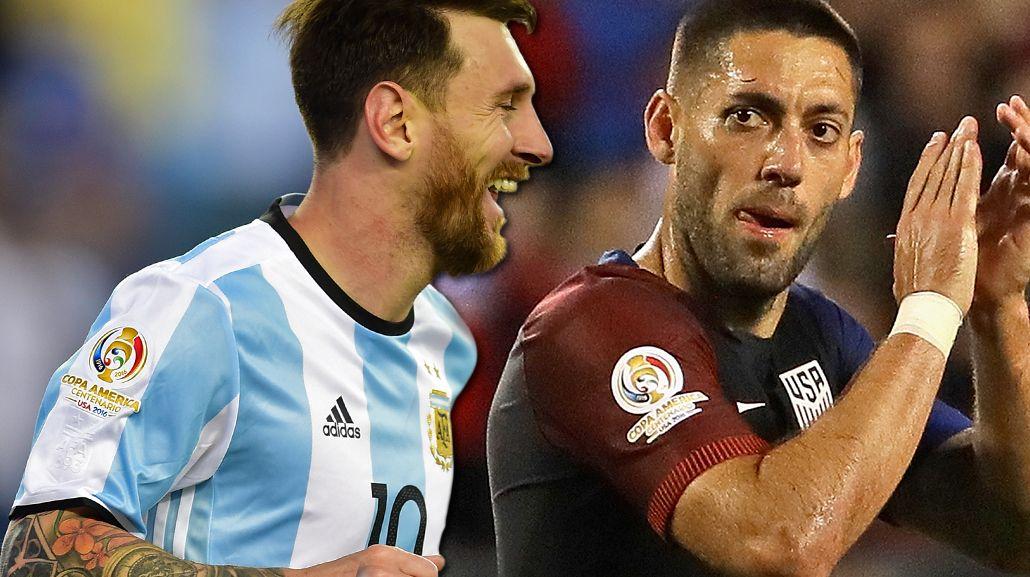Mano a mano: Lionel Messi vs. Clint Dempsey