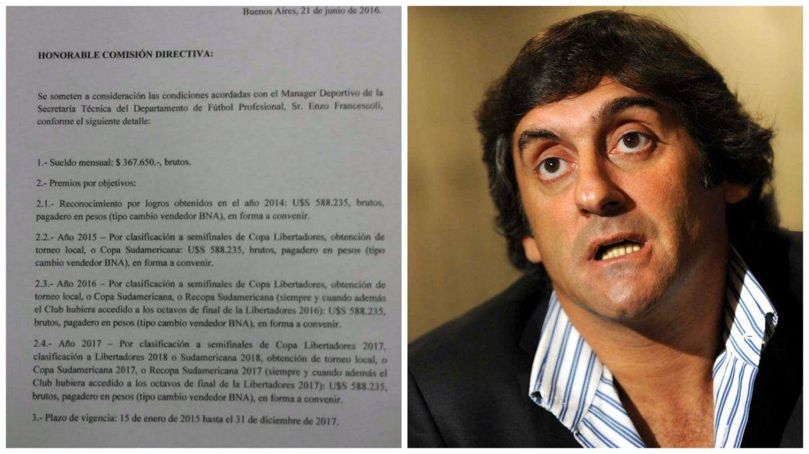 River: trascendió el contrato de Francescoli y hay polémica entre socios e hinchas