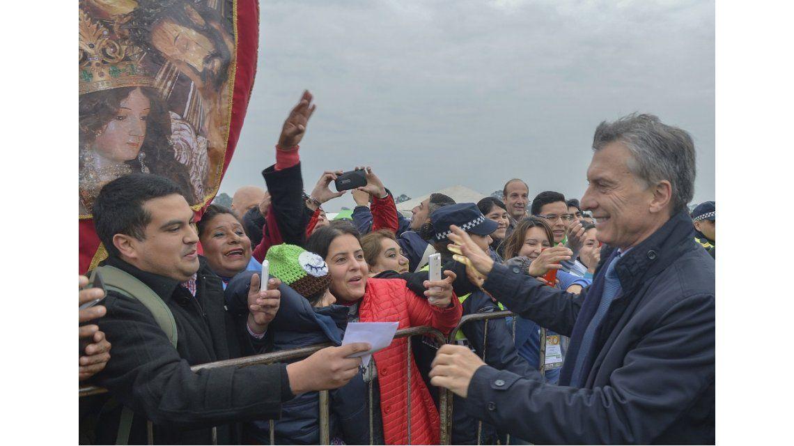 Desde el Congreso Eucarístico, Macri pidió erradicar la corrupción