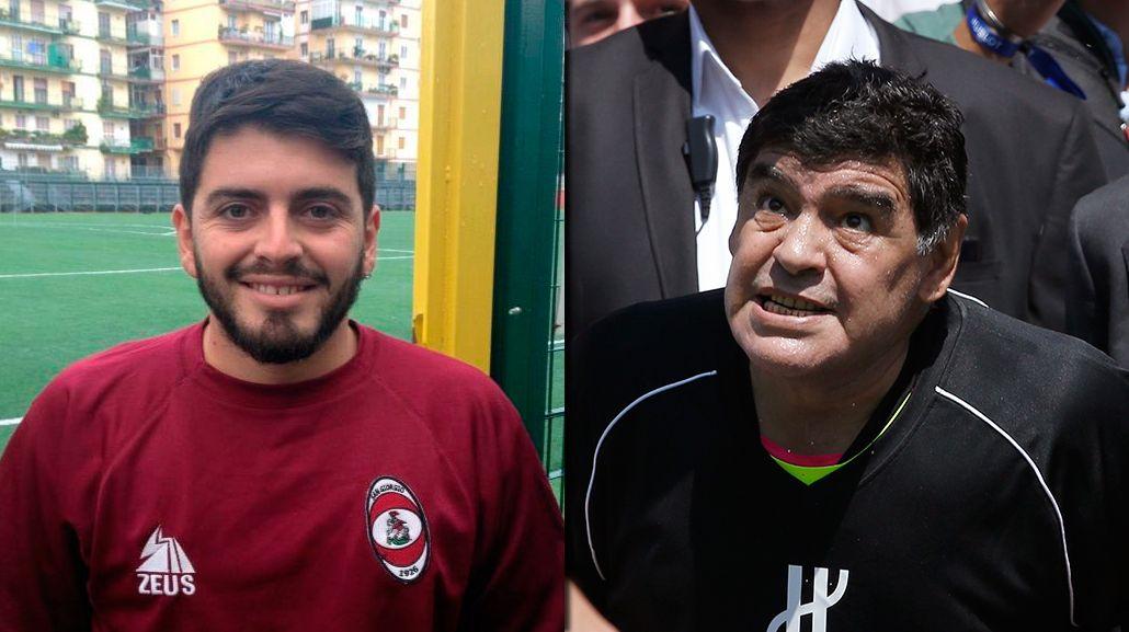 Escuchá el mensaje de Diego Jr. a Maradona por el Día del Padre