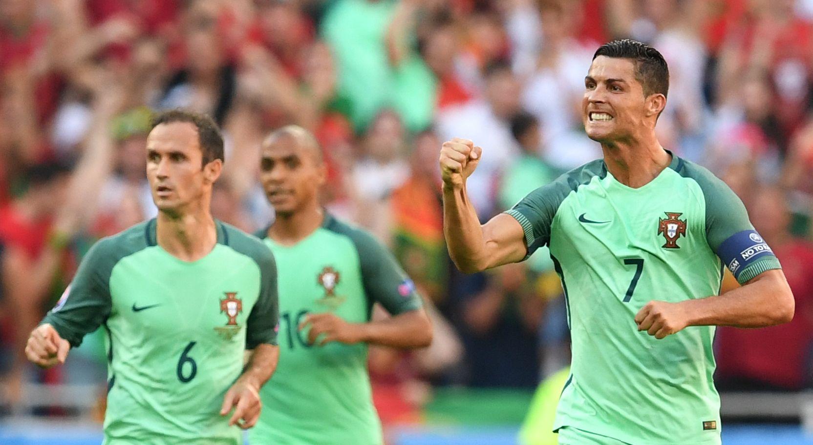 Cristiano, héroe otra vez: rompió dos récords y salvó a Portugal del fracaso