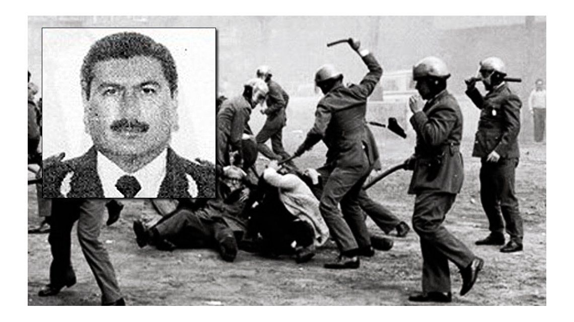 Murió el represor Miguel Colicigno cuando podaba un limonero