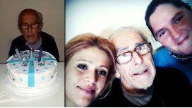 La intimidad del cumpleaños de Barreda: Esta torta no explota