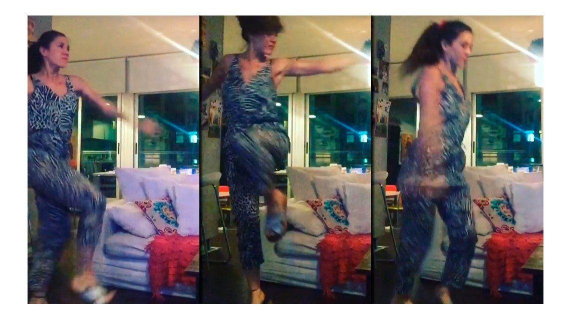 Quiere pista del Bailando 2016: Jimena Barón muestra sus habilidades artísticas