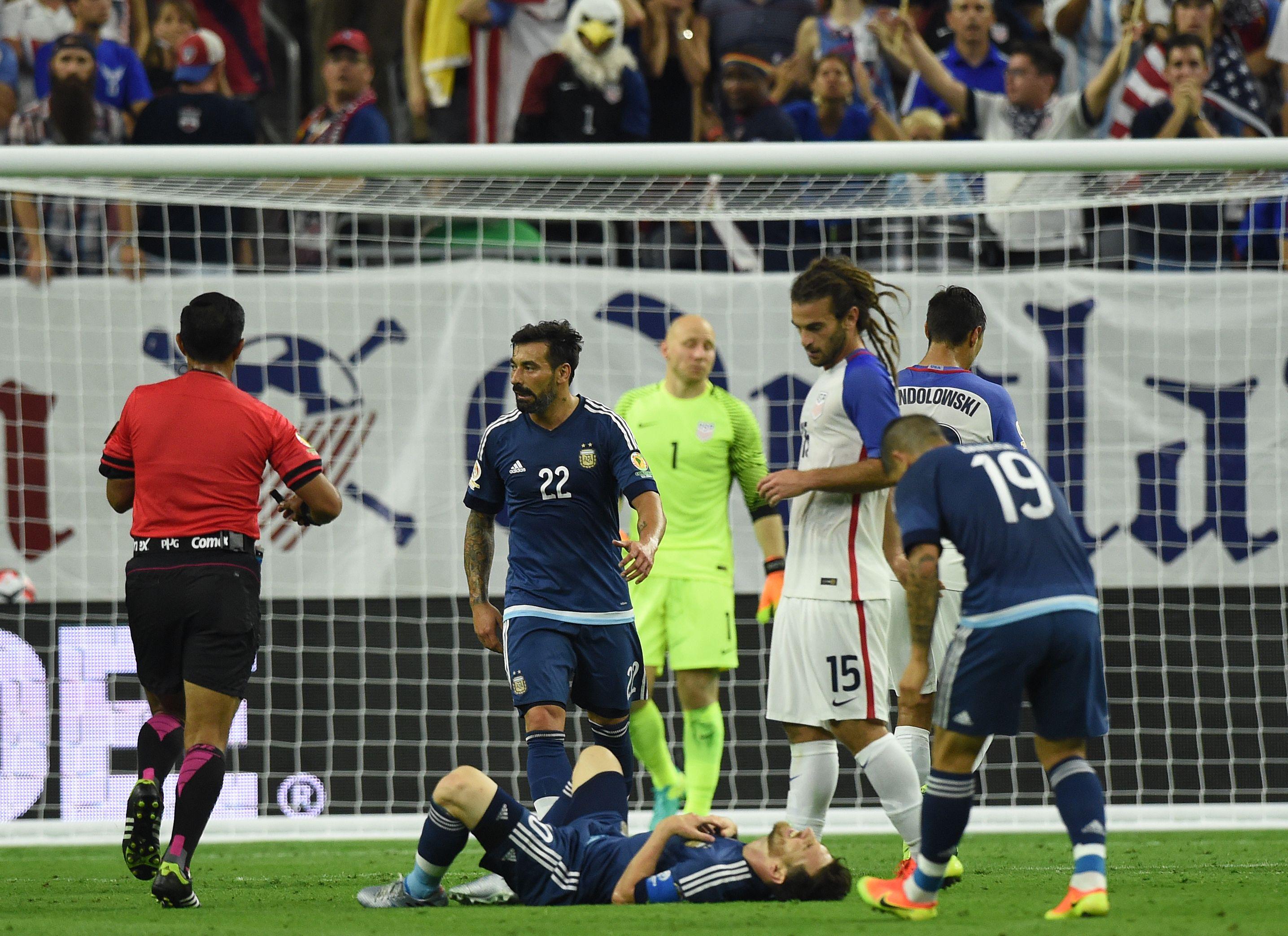 Las mejores fotos del triunfo de Argentina ante Estados Unidos