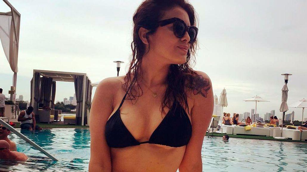 Silvina Luna disfruta el verano de Miami a pura sensualidad