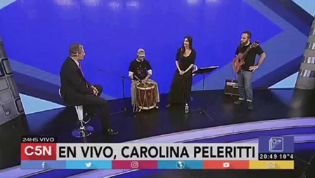VIDEO: El show de Carolina Peleritti en C5N