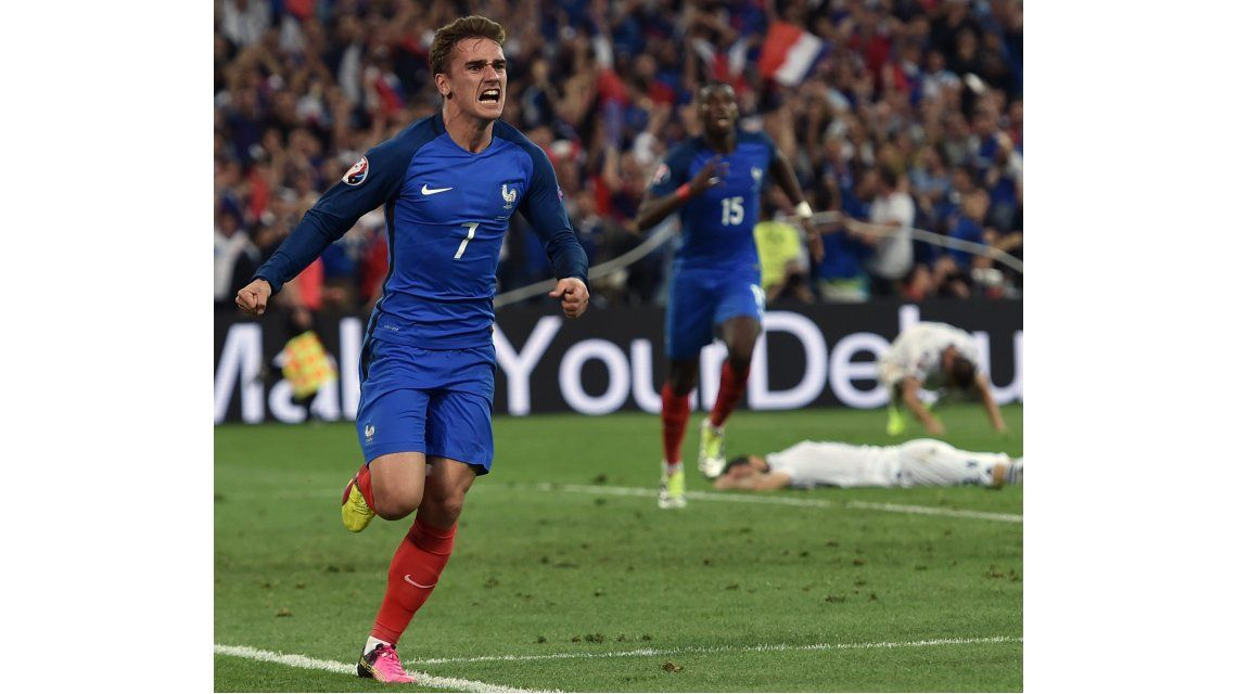 La figura de Francia reveló su secreto para ser goleador de la Eurocopa