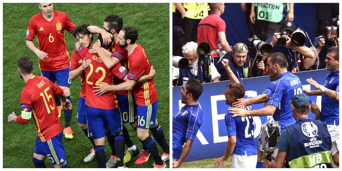 Eurocopa: España e Italia, clasificados a octavos de final
