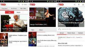 Nueva aplicación para Android de TED Talks