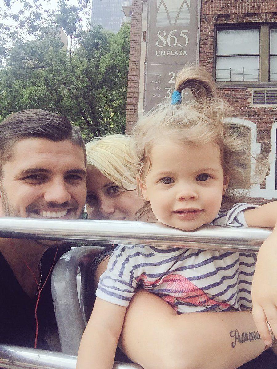 Mauro Icardi provoca y usa a su hija: Que la cuenten como quieran