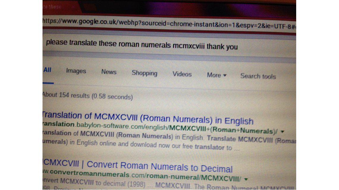 La educada búsqueda de una abuela en Google que se viralizó en la web