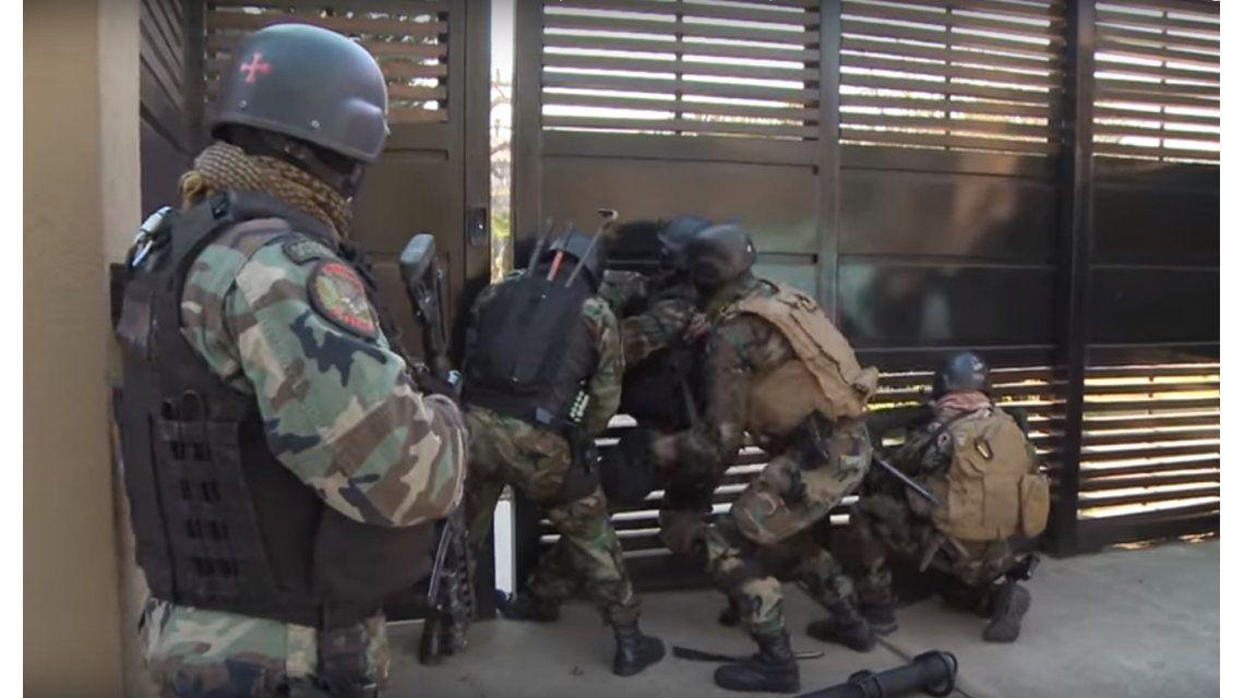 VIDEO: Así fue el allanamiento en la casa que José López tiene en Tigre