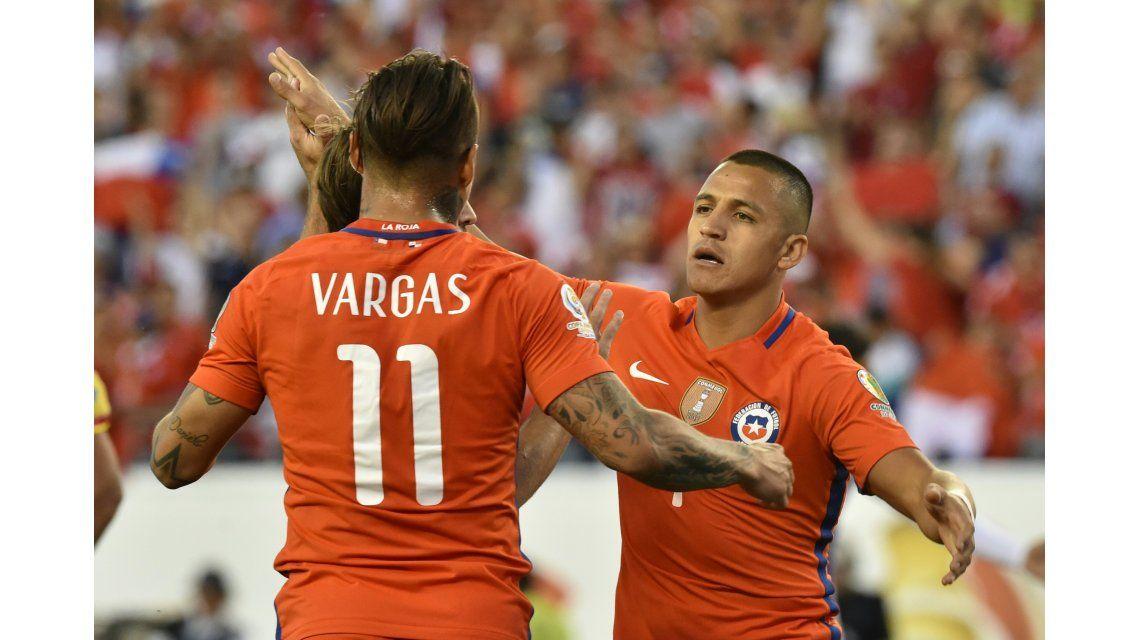 Chile se lo dio vuelta a Panamá y jugará ante México en cuartos de final