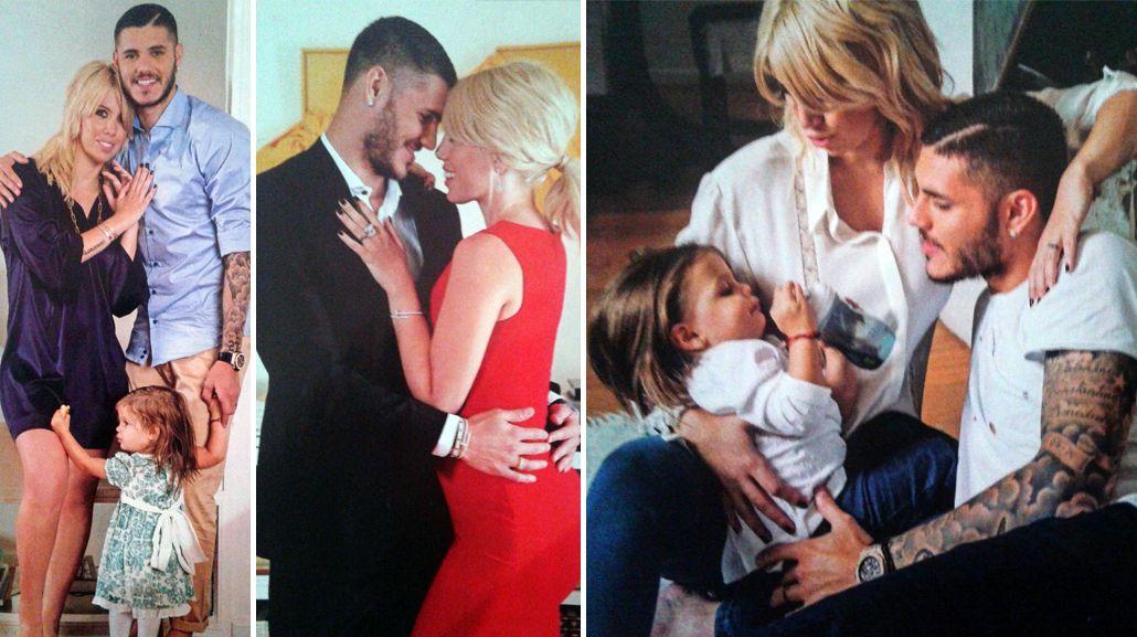 Wanda Nara y Mauro Icardi revelan como hacen para tener intimidad con cuatro hijos