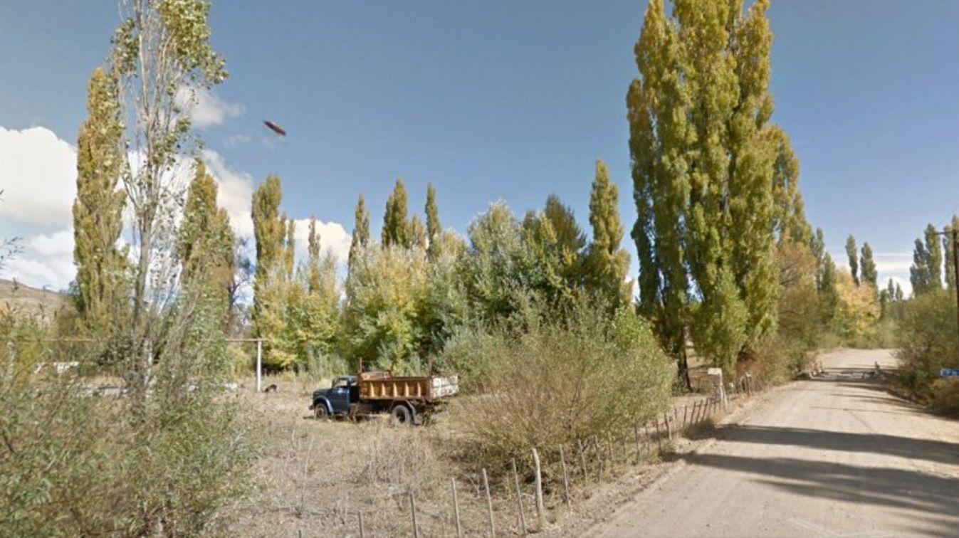 Creen que Google Street View fotografió un ovni en Neuquén