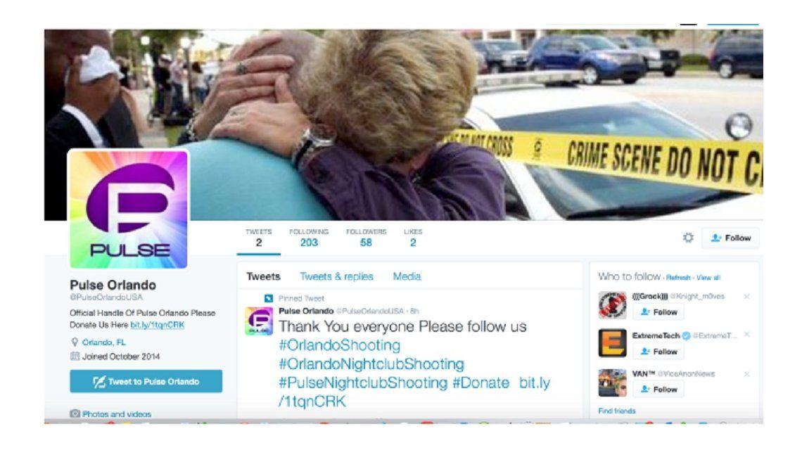 Miserables: usaron Twitter para estafar con donaciones por la masacre de Orlando