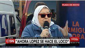 Hebe: López no es sólo un chorro, es un infiltrado