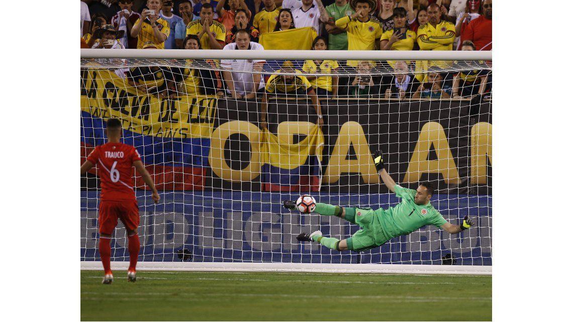 Mirá la tanda de penales con la que Colombia superó a Perú en cuartos