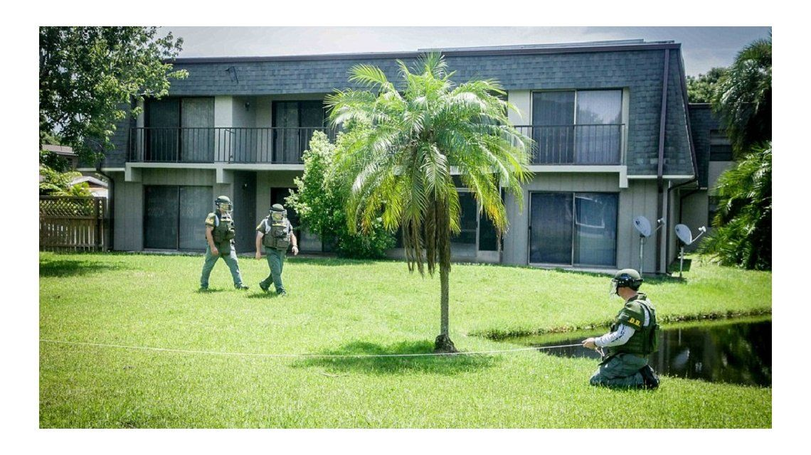 Acá vivía el autor de la masacre de Orlando: mirá la casa por dentro