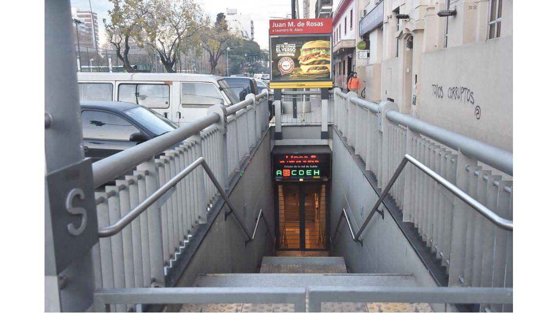 Les descontaron el sueldo a los metrodelegados que pararon la Línea B