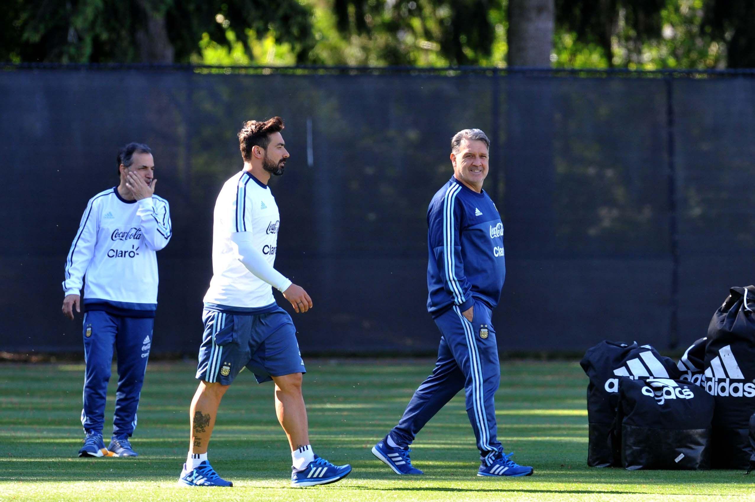 Las fotos del entrenamiento de la Selección en Seattle