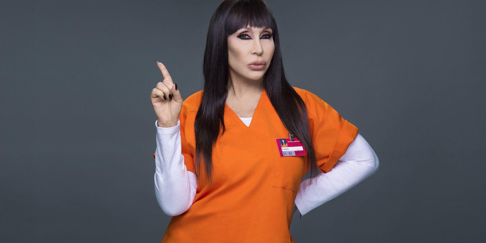 Moria Casán llegó a OITNB en Netflix