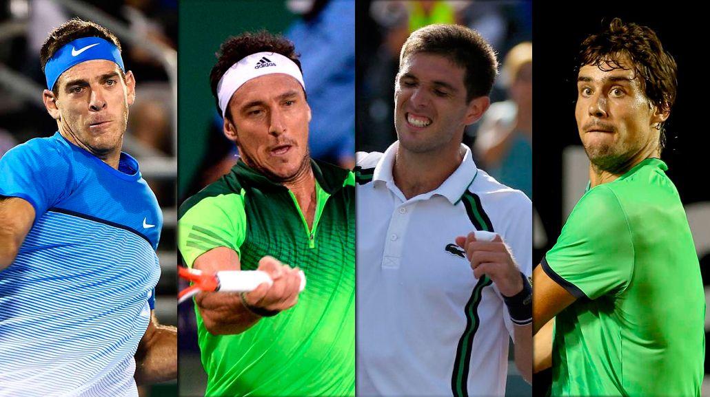 El tenis argentino ya definió a sus representantes en los Juegos Olímpicos