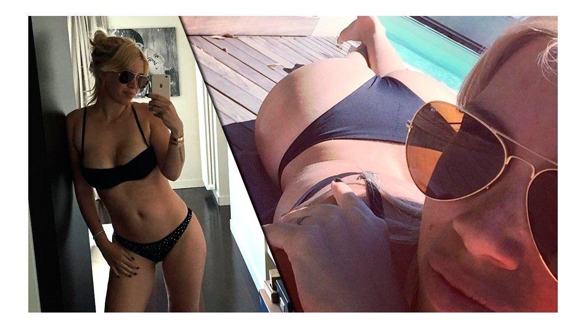 Wanda Nara disfruta del verano europeo en bikini