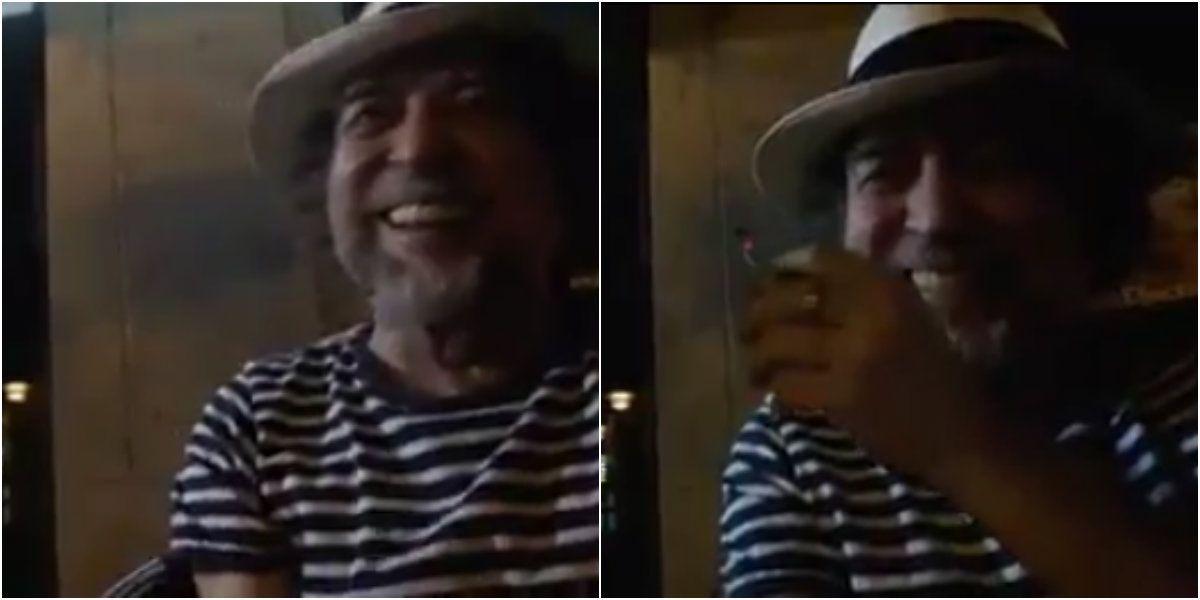La entrevista espontánea a Joaquín Sabina en un bar de Madrid: Messi es Da Vinci