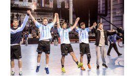 Argentina le ganó con sufrimiento a Chile y va por Brasil en el Panamericano