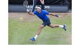 Wimbledon: Del Potro debuta ante el francés Stephane Robert