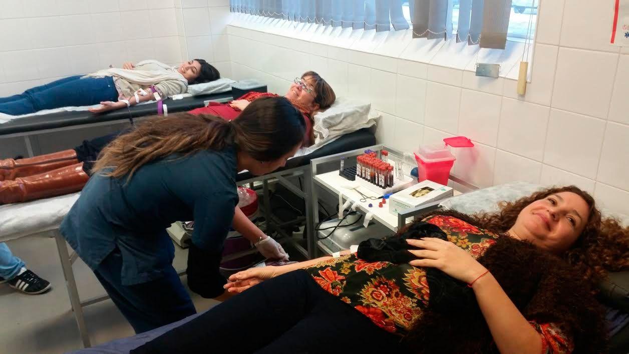 Jornada solidaria en Ford para concientizar sobre la donación de sangre y médula ósea