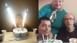 Barreda cumplió 80 años y le organizaron una fiesta