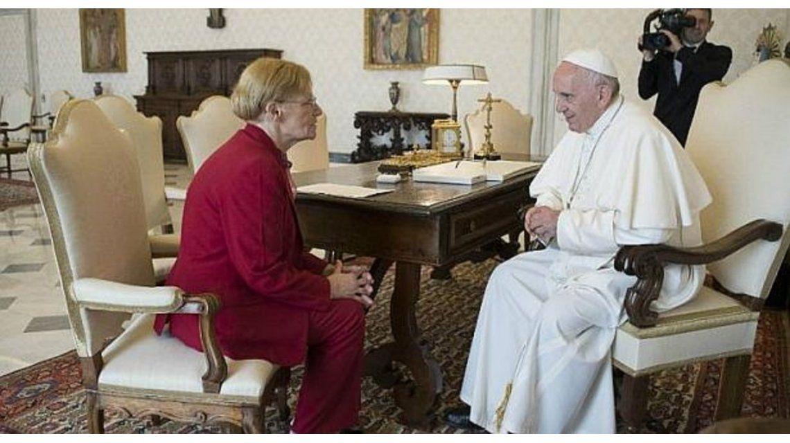 El Papa recibió a la madre de Saldaño, el argentino condenado a muerte en EE.UU.