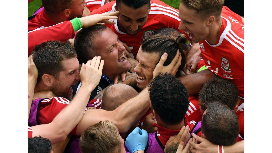Grito histórico: Gareth Bale anotó el primer gol de Gales en una Eurocopa