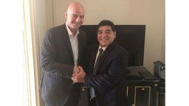 Diego Maradona será veedor de FIFA para supervisar la Súper Liga