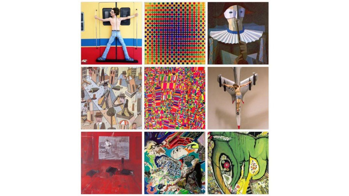 #TriviaM1 ¿Qué pintor argentino hizo este cuadro?