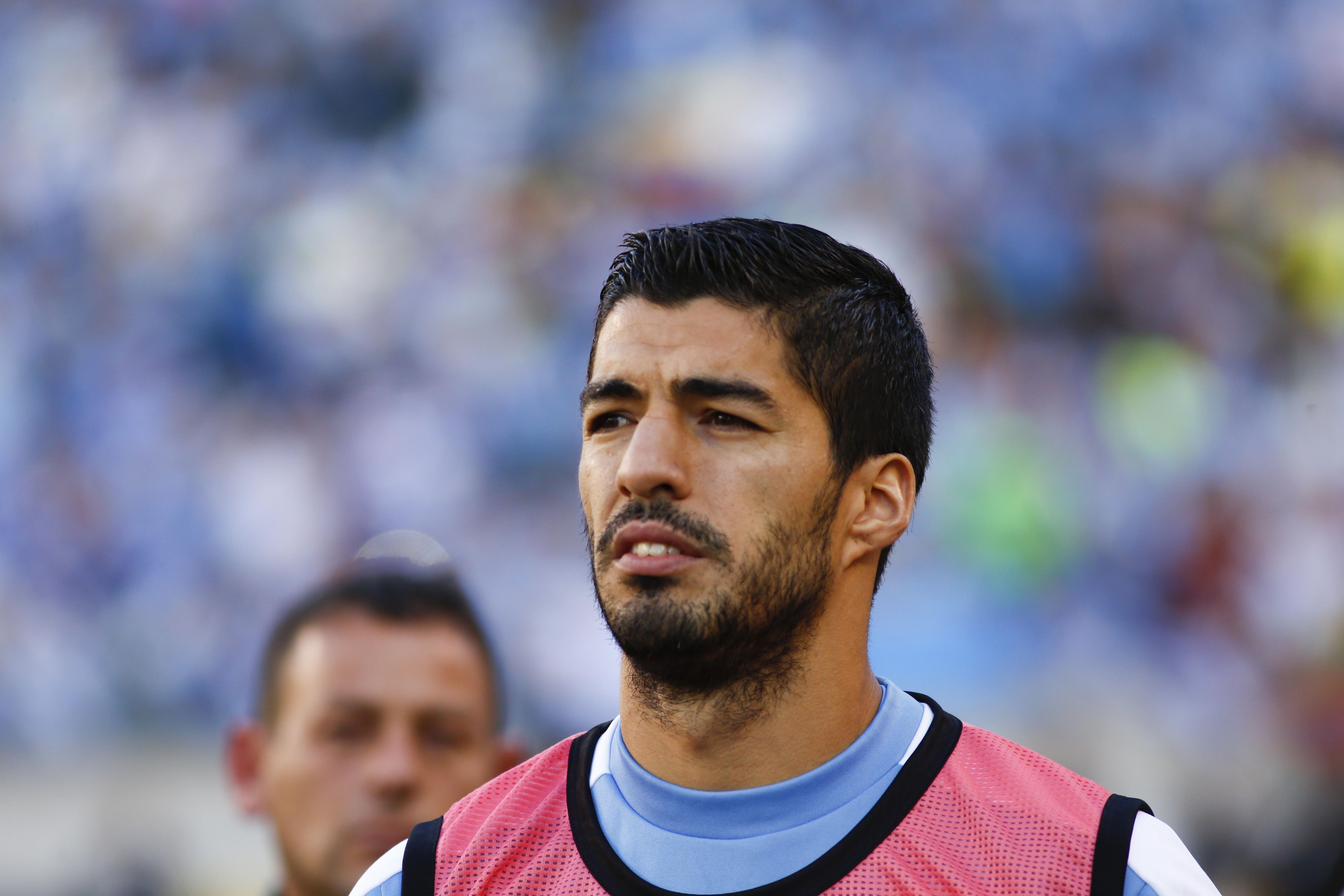 Se lesionó Luis Suárez