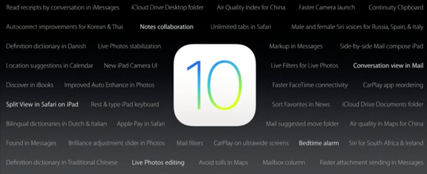 Todo lo que tenés que saber sobre iOS 10