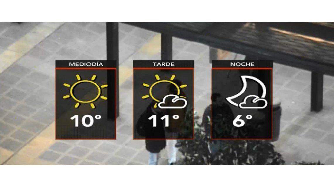 Viernes con mucho frío en la Ciudad y el Conurbano