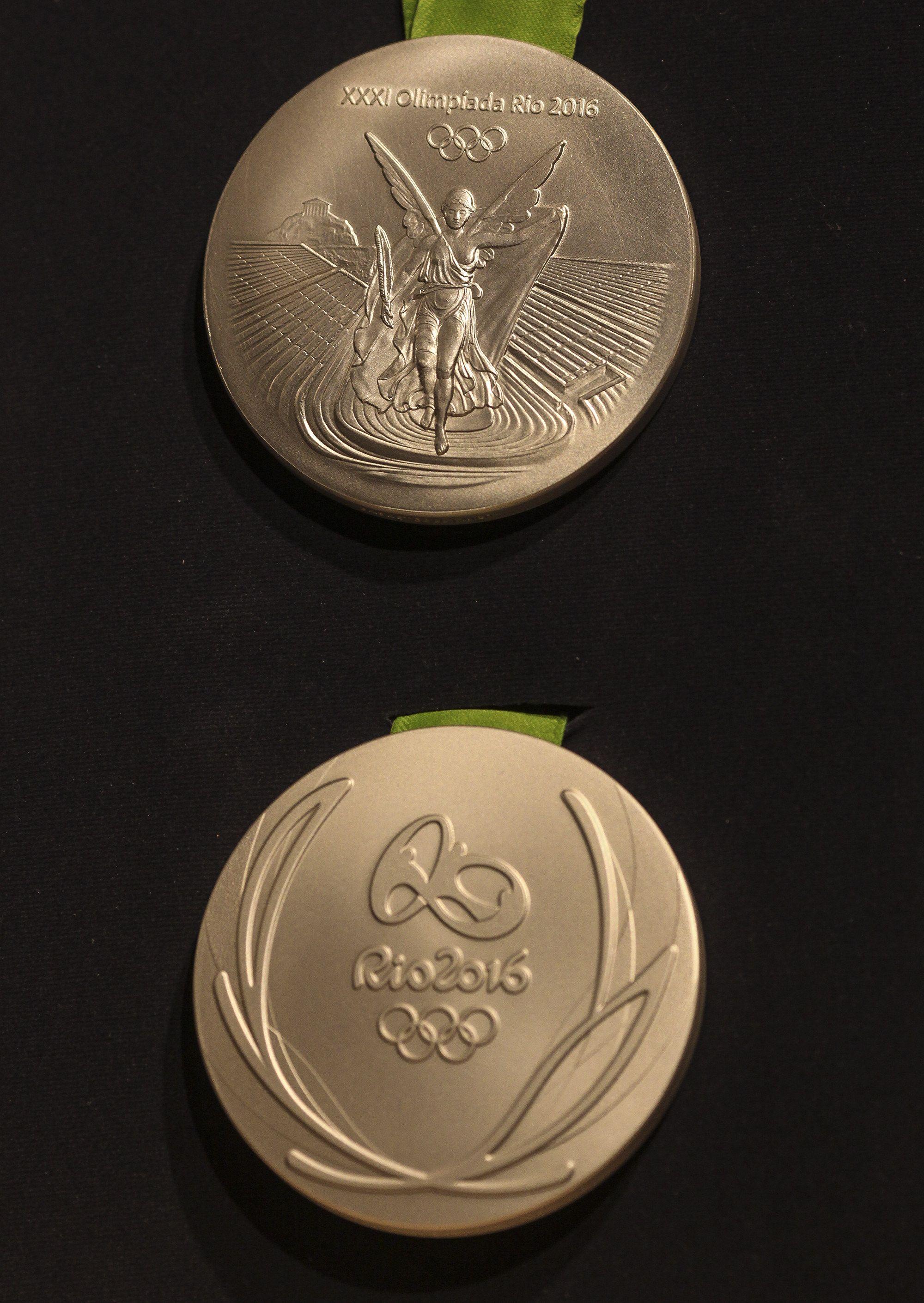 FOTOS: Así son las medallas de Río 2016