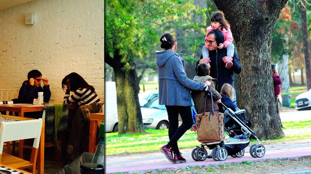 Exclusivo: Gael García Bernal, de paseo en Buenos Aires con su nueva novia