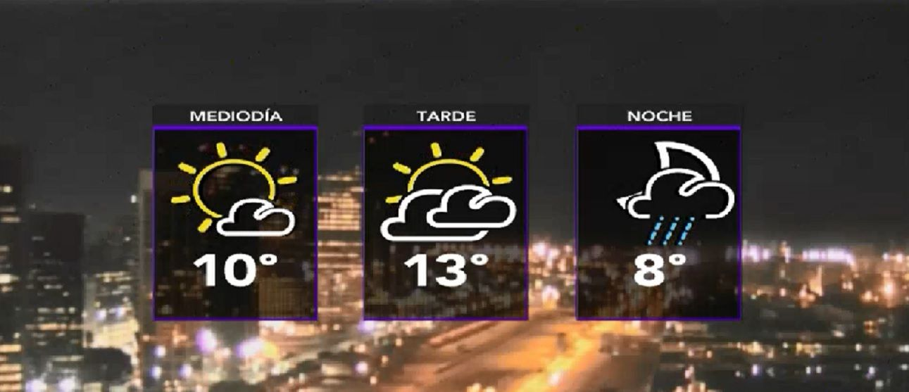 Jueves con temperaturas muy bajas en la Ciudad y el Conurbano