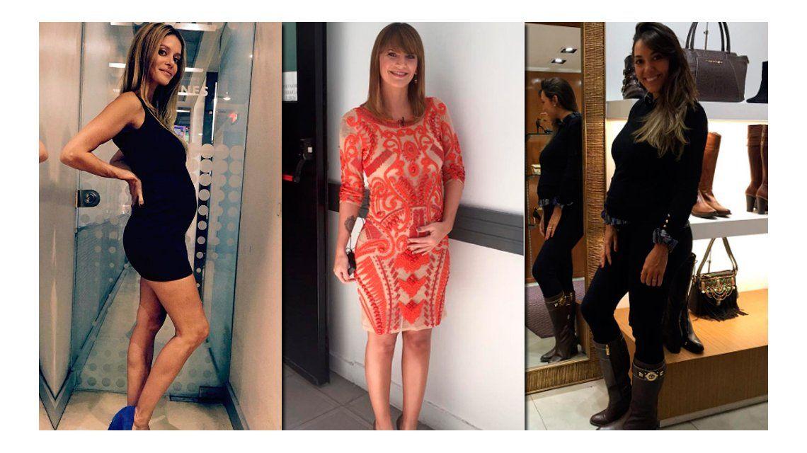 Vanina Escudero, Amalia Granata y Floppy Tesouro revelaron sus antojos de embarazadas