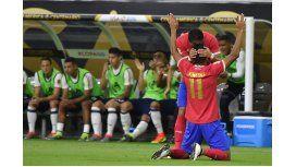 Costa Rica sorprendió y venció a Colombia